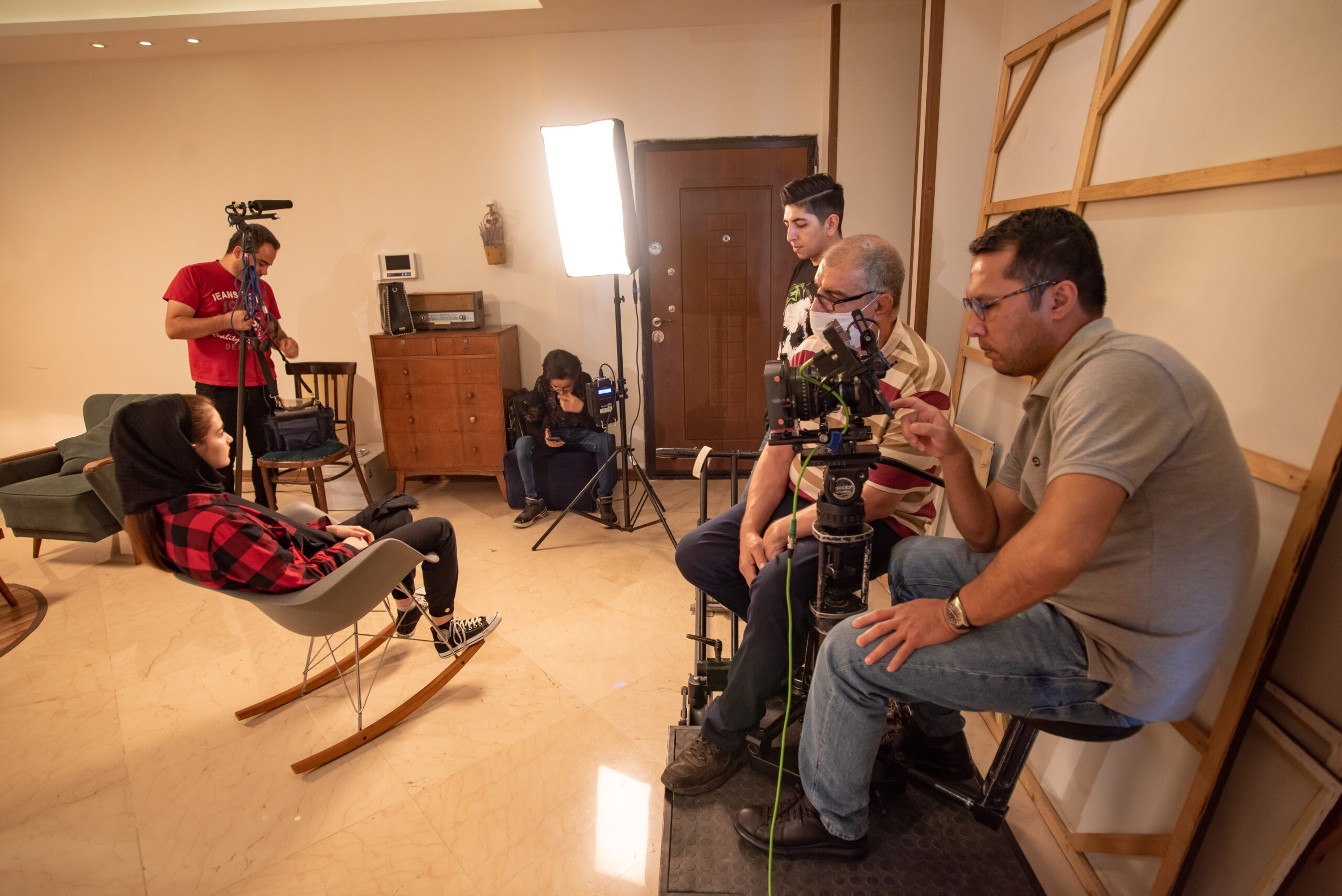عکاسی از پشت صحنه فیلم