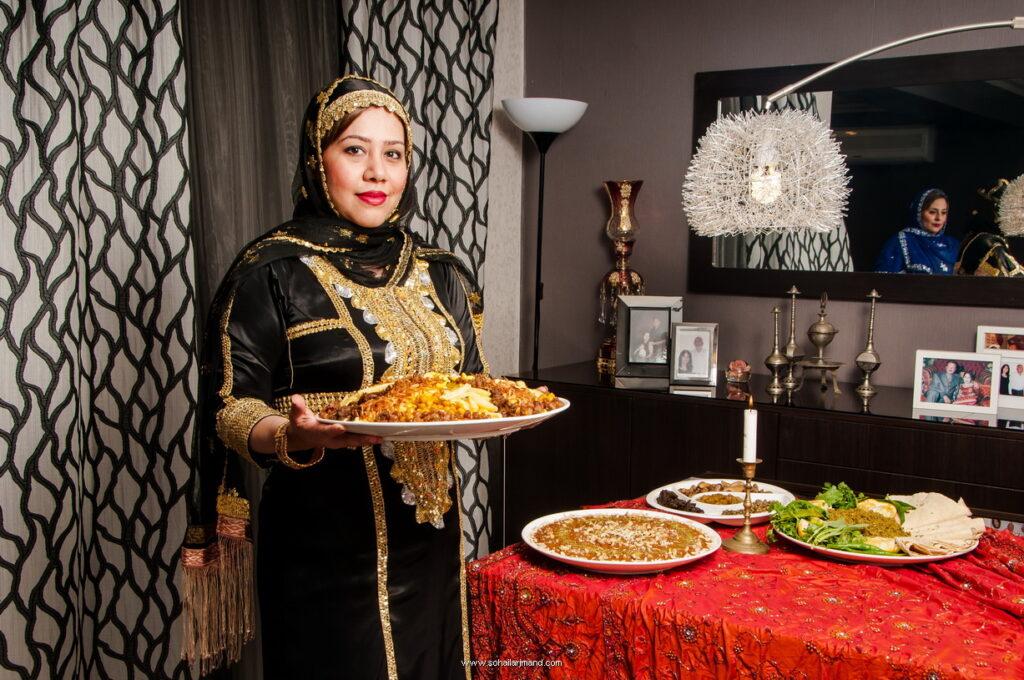 عکاسی پرتره محیطی و عکاسی از غذا برای مجله آشپزی